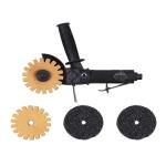WiederKraft-GATX GP-0583: Пневматическая угловая роторационная зачистная машинка