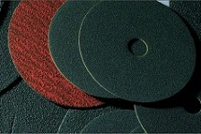 Фибровые круги SUNDISC F659 с цирконатом алюминия 115мм х 22мм