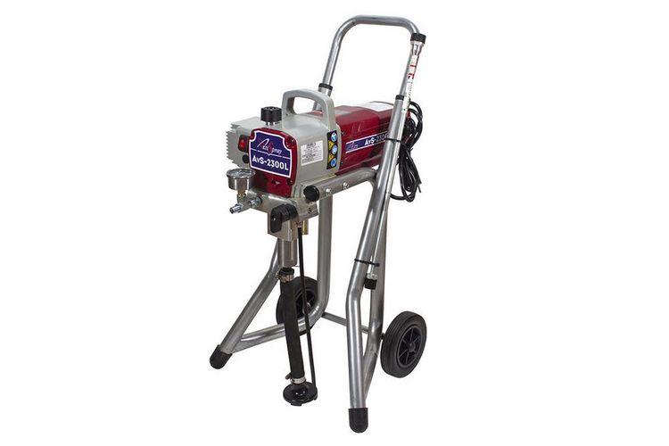 Аппарат окрасочный AktiSpray AvS-2300L, комплект 2,3 л/мин, 220 бар, 1500 Вт, 220 В, 50 Гц