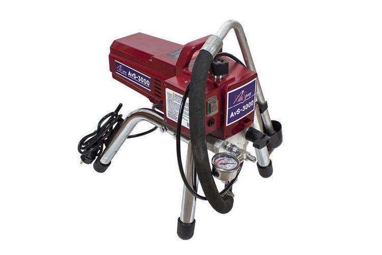 Аппарат окрасочный AktiSpray AvS-3000, комплект 3,0 л/мин, 220 бар, 1600 Вт, 220 В, 50 Гц