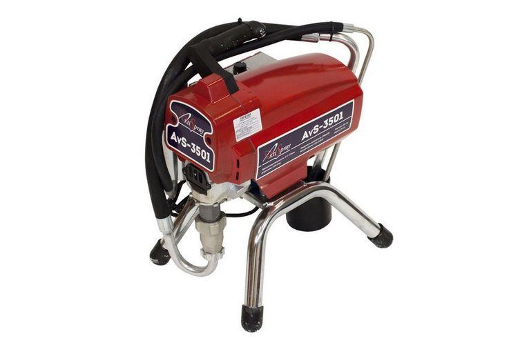Аппарат окрасочный AktiSpray AvS-3501, комплект 3,5 л/мин, 230 бар, 2800 Вт, 220 В, 50 Гц