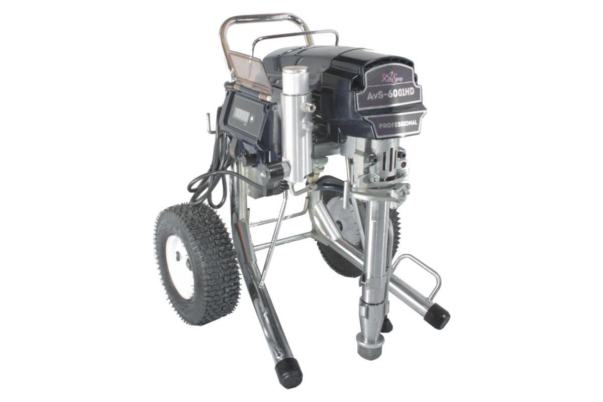 Аппарат окрасочный AktiSpray AvS-6001HD, комплект 6,0 л/мин, 250 бар, 3800 Вт, 220 В, 50 Гц